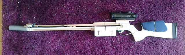 My pencil shooting sniper - Slingshot Crossbows